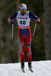 13.12.2014, Davos, SUI, FIS Langlauf Weltcup, Davos, 15 km, Herren, im Bild Petter Northug (NOR) // during Cross Country, 15km, men at FIS Nordic world cup in Davos, Switzerland on 2014/12/13. EXPA Pictures © 2014, PhotoCredit: EXPA/ Freshfocus/ Christian Pfander<br /> <br /> *****ATTENTION - for AUT, SLO, CRO, SRB, BIH, MAZ only*****