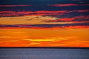 Sunset on the Atlantic Ocean<br /> Channel-Port aux Basques<br /> Newfoundland & Labrador<br /> Canada