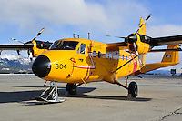 RCAF CC-138 Twin Otter on the ramp at Whitehorse, Yukon