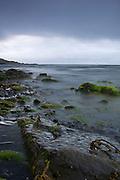 Approaching storm over Loch Pooltiel, heading for Glendale Beach, Isle of Skye.