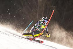 Estelle Alphand (SWE) during the Ladies' Slalom at 56th Golden Fox event at Audi FIS Ski World Cup 2019/20, on February 16, 2020 in Podkoren, Kranjska Gora, Slovenia. Photo by Matic Ritonja / Sportida