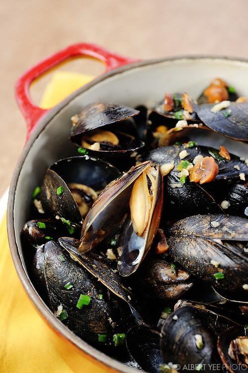 Mussels<br /> <br /> The Yardley Inn<br /> <br /> February 28, 2014