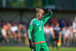 WREXHAM, WALES - Monday, July 22, 2019: South goalkeeper Rowan Walker during the Welsh Football Trust Cymru Cup 2019 at Colliers Park. (Pic by Paul Greenwood/Propaganda)