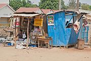 """""""Maama Kitaka"""", butcher and grocery in Mubende, Uganda."""