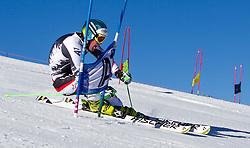 04.10.2014, Rettenbach Ferner, Soelden, AUT, OeSV, Gletschertraining, im Bild Vincent Kriechmayr (AUT) // Vincent Kriechmayr of Austria during a practice session of Austrian Ski Federation at the Rettenbachferner, Austria on 2014/10/04. EXPA Pictures © 2014, PhotoCredit: EXPA/ JFK