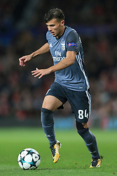 31st October 2017 - UEFA Champions League - Group A - Manchester United v SL Benfica - Diogo Goncalves of Benfica - Photo: Simon Stacpoole / Offside.