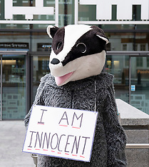 Badger Protest 12th August 2021