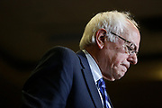 May 15, 2016 - Paducah, Kentucky, USA: Bernie Sanders speaks to a crowd of his supporters during a campaign rally at the Julian Carroll Convention Center. (Jeremy Hogan/Polaris)