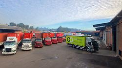 Pátio da empresa Multi Armazéns, em Novo Hamburgo. FOTO: Jefferson Bernardes/Preview.com