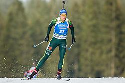 Vanessa Hinz (GER) during Women 15km Individual at day 5 of IBU Biathlon World Cup 2018/19 Pokljuka, on December 6, 2018 in Rudno polje, Pokljuka, Pokljuka, Slovenia. Photo by Ziga Zupan / Sportida