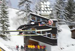30.12.2011, Schattenbergschanze / Erdinger Arena, GER, Vierschanzentournee, FIS Weldcup, Probedurchgang, Ski Springen, im Bild Manuel Fettner (AUT) // Manuel Fettner of Austria  during the trial round at 60th Four-Hills-Tournament, FIS World Cup in Oberstdorf, Germany on 2011/12/30. EXPA Pictures © 2011, PhotoCredit: EXPA/ P.Rinderer