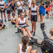 4:45 PM- Concept2 #42- Women?s Team Relay U15, U15 Novice, U16<br /> <br /> NZ Indoor Champs, raced at Avanti Drome, Cambridge, New Zealand, Saturday 23rd November 2019 © Copyright Steve McArthur / @rowingcelebration www.rowingcelebration.com