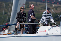 Sailing - SCOTLAND  - 25th May 2018<br /> <br /> Opening days racing the Scottish Series 2018, organised by the  Clyde Cruising Club, with racing on Loch Fyne from 25th-28th May 2018<br /> <br /> GBR7061N, Rammie, M Fleming/D Smith, ASYC<br /> <br /> Credit : Marc Turner<br /> <br /> Event is supported by Helly Hansen, Luddon, Silvers Marine, Tunnocks, Hempel and Argyll & Bute Council along with Bowmore, The Botanist and The Botanist