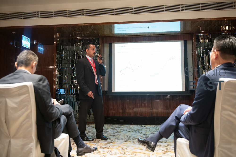 Workshop A 'Managing Excess Liquidity and Interest Rate Outlook' during Shaping the Modern Treasurer forum at the Ritz-Carlton Hotel, Hong Kong, China, on 21 November 2018. Photo by Lucas Schifres/Studio EAST