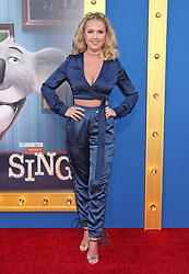 Victoriah Bech, Universal Pictures film premiere for Sing at LA Live (Los Angeles, CA.)