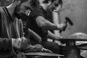 Hand hammering Mehmet Tamdeger Turkish cymbals