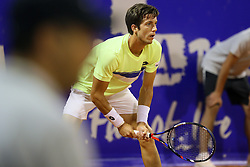 Aljaz Bedene from Great Britain during a tennis match against the Joao Sousa from Portugal in 1st round of singles at Plava Laguna Croatia Open Umag, on July 18, 2017 in Stadium Gorana Ivanisevica, Umag, Croatia. Photo by Urban Urbanc / Sportida