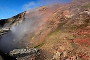 Deildartunguhver, hot spring, Iceland