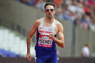 Martin Rooney (GBR) in the 400m Men during the Muller Anniversary Games at the London Stadium, London, England on 9 July 2017. Photo by Jon Bromley.
