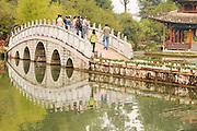 China Yunnan province Lijiang black dragon pool Park,