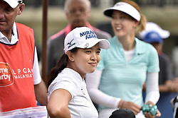 October 26, 2017 - Kuala Lumpur, Malaysia - Sei Young Kim(C) of South Korea during day one of the Sime Darby LPGA Malaysia at TPC Kuala Lumpur on October 26, 2017 in Kuala Lumpur, Malaysia. (Credit Image: © Chris Jung/NurPhoto via ZUMA Press)