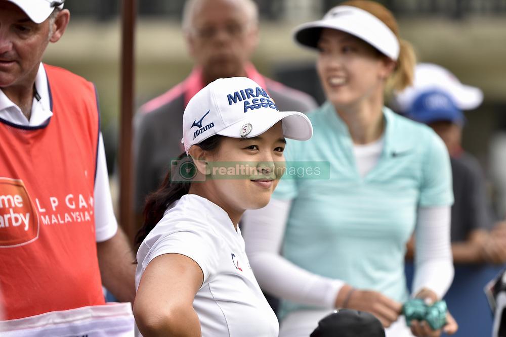 October 26, 2017 - Kuala Lumpur, Malaysia - Sei Young Kim(C) of South Korea during day one of the Sime Darby LPGA Malaysia at TPC Kuala Lumpur on October 26, 2017 in Kuala Lumpur, Malaysia. (Credit Image: © Chris Jung/NurPhoto via ZUMA Press)