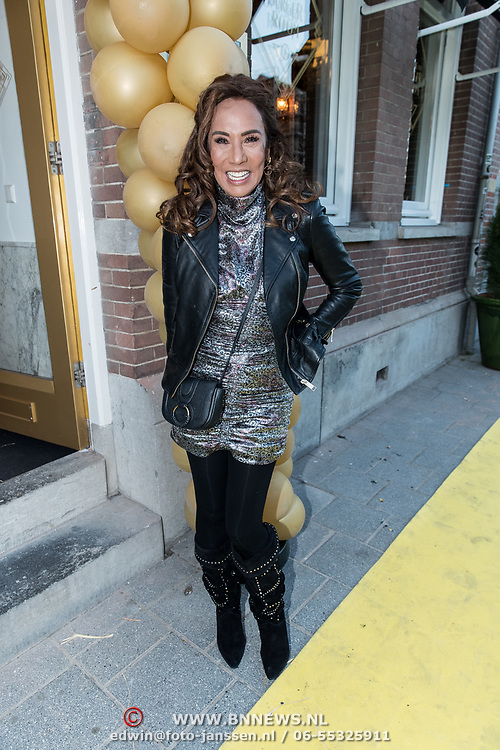 NLD/Amsterdam/20190401 -  Opening Burgerroom Gordon , Patty Brard