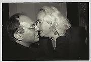 Martin Peretz: Leon Wieseltier, New Republic party. Washington. 1993.