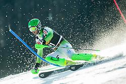 Forerunner Jan Kunc of Slovenia prior to the 1st Run of Men Slalom race of FIS Alpine Ski World Cup 54th Vitranc Cup 2015, on March 15, 2015 in Kranjska Gora, Slovenia. Photo by Vid Ponikvar / Sportida