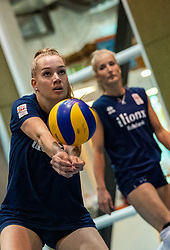 14-05-2019 NED: Training national volleyball team Women, Arnhem<br /> Dutch volleyball team women starts the training yesterday. There is a tough program ahead this summer. They starts with group matches of the VNL, then OKT in Catania in Italy, Worldcup in Japan and the European Championship played in Hungary / Nicole Oude Luttikhuis #17 of Netherlands