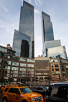 US, New York City. Time Warner Center. Columbus Circle.