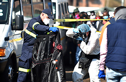 South Africa - Pretoria - 23 July 2020 - The scene in Marabastad where two people were shot and killed and two others hospitalised after a taxi violence shooting.<br /> <br /> Picture: Thobile Mathonsi/African News Agency(ANA)