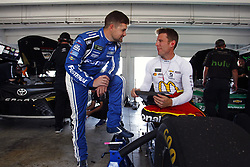 November 18, 2017 - Homestead, Florida, United States of America - November 18, 2017 - Homestead, Florida, USA: Jamie McMurray (1) hangs out in the garage prior to practice for Ford EcoBoost 400 at Homestead-Miami Speedway in Homestead, Florida. (Credit Image: © Justin R. Noe Asp Inc/ASP via ZUMA Wire)