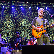 COLUMBIA, MD - May 14, 2015 - Buddy Miller, Don Was and Bob Weir perform during the Dear Jerry: Celebrating the Music of Jerry Garcia concert at Merriweather Post Pavilion in Columbia, MD. (Photo by Kyle Gustafson / For The Washington Post)