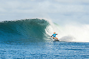 Tatiana Weston-Webb of Hawaii will surf in Round Two of the 2017 Maui Women's Pro after placing second in Heat 4 of Round One at Honolua Bay, Maui, Hawaii, USA.