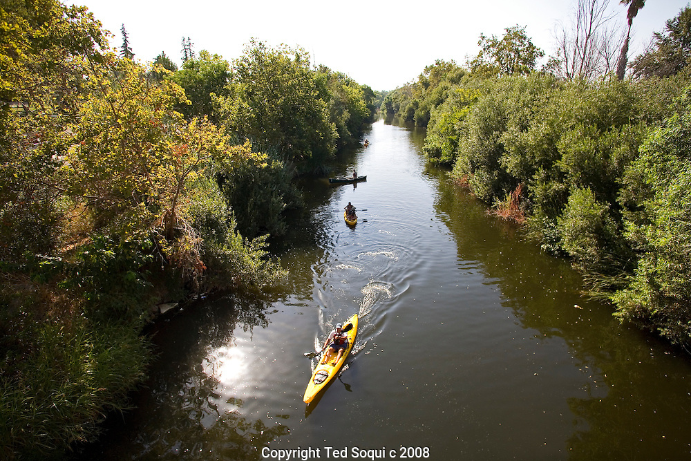 The 3 day LA River expedition began near Balboa Park.