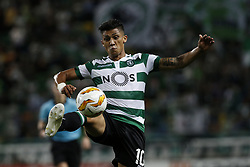 September 20, 2018 - Lisbon, Portugal - Fredy Montero of Sporting in action  during Europa League 2018/19 match between Sporting CP vs Qarabagh FK, in Lisbon, on September 20, 2018. (Credit Image: © Carlos Palma/NurPhoto/ZUMA Press)