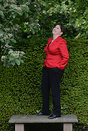 Scottish Conservative Leader, Ruth Davidson on the Royal Mile and in Dunbar's Close Garden off the Mile <br /> Pictures by  Neil Hanna  - mobile 07702246823