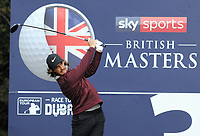 Golf - 2018 Sky Sports British Masters - Thursday, First Round<br /> <br /> Tommy Fleetwood of England, at Walton Heath Golf Club.<br /> <br /> COLORSPORT/ANDREW COWIE