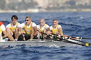 San Remo, Italy,  Friday afternoon qualifications, at the FISA Coastal World Championships. Fri. 17.10.2008.[Photo, Peter Spurrier/Intersport-images] Coastal Rowing Course: San Remo Beach, San Remo, ITALY