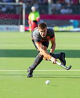 ANTWERPEN - Sander de Wijn (Ned)  tijdens halve finale  mannen, Nederland-Spanje (3-4)  ,  bij het Europees kampioenschap hockey.  COPYRIGHT KOEN SUYK