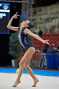 Bianca Folegnani from Petrarca team during the Italian Rhythmic Gymnastics Championship in Padova, 25 November 2017.