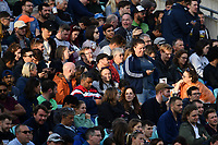 Cricket - 2021 - The Hundred - Men's Competitions - Oval Invincibles vs Trent Rockets - Kia Oval - Sunday 8th August 2021<br /> <br /> Fans waiting patiently as the Women's game is cancelled and the Men's is delayed.<br /> <br /> COLORSPORT/Ashley Western