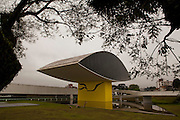 Curitiba_PR, Brasil...MON (Museu Oscar Niemeyer) em Curitiba, Parana...The Oscar Niemeyer Museum (Portuguese: Museu Oscar Niemeyer) is located in the city of Curitiba, in the state of Parana, in Brazil...Foto: LUIZ FELIPE FERNANDES / NITRO
