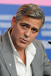 Hollywood star George Clooney was treated in hospital on Tuesday for minor injuries after a scooter accident in Sardinia, Italy on July 10, 2018 ------------ George Clooney attending 'The Monuments Men' Press Conference during the 64th Berlinale, Berlin International Film Festival in Berlin, Germany, on February 08, 2014. Photo by Aurore Marechal/ABACAPRESS.COM