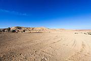 Israel, Negev Desert landscape Wasi Zin