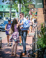 Stefan and Colleen - a Boston wedding proposal