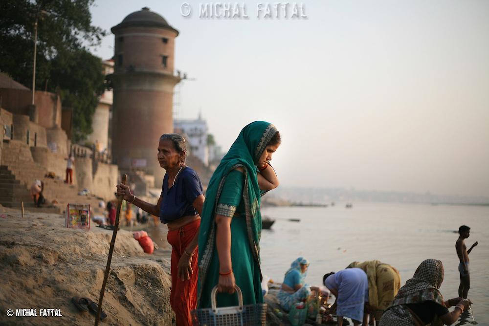 Varanasi, India.