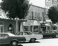 1977 Republican Headquarters on Larchmont Blvd.