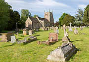 Church of Saint Martin and graveyard, Bremhill, Wiltshire, England, UK